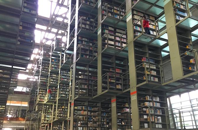ヴァスコンセロス図書館(空中図書館)メキシコシティ5