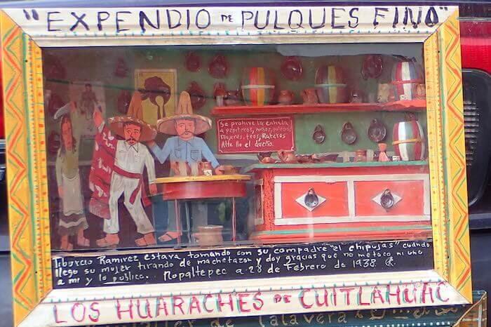 エクスボト(レタブロ)メキシコシティ6