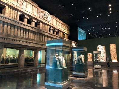 メキシコシティの国立人類学博物館16