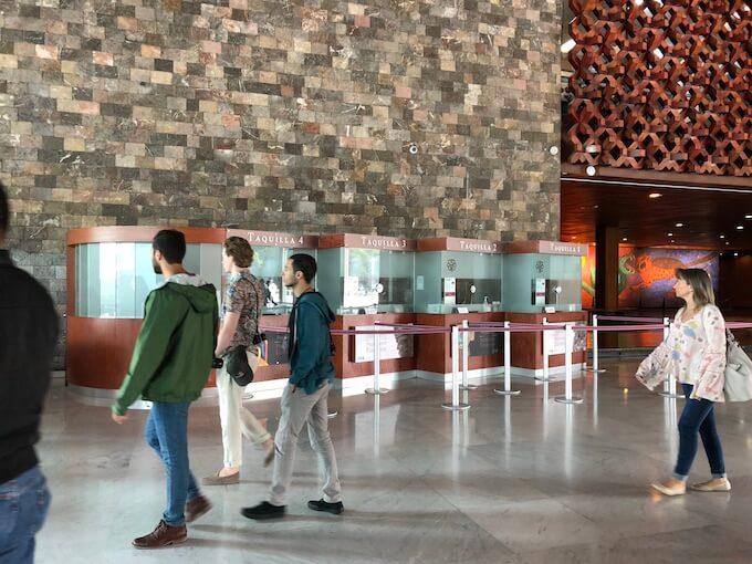 メキシコシティの国立人類学博物館6