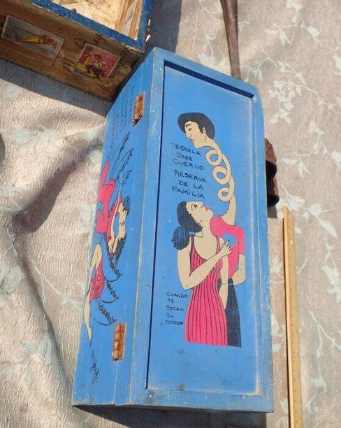 手作りエクスボト(メキシコシティ)箱型