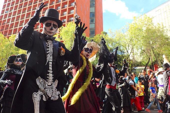 メキシコシティの死者の日パレード4