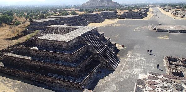 テオティワカン遺跡(ピラミッド)