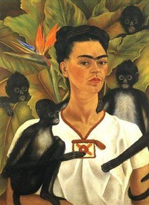 フリーダカーロと猿(1)