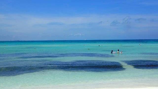 ハイアットジーヴァのビーチ海4