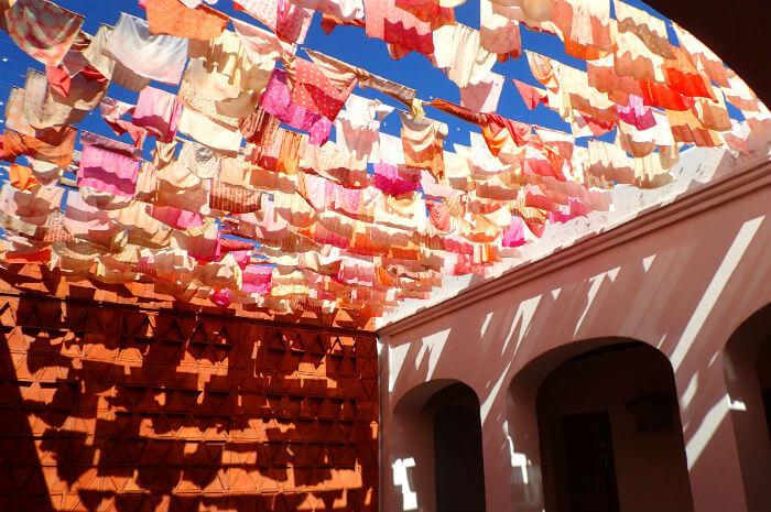 オアハカのテキスタイル美術館