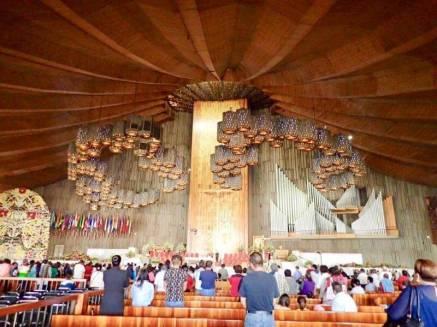 メキシコシティのグアダルーペ寺院(新しい教会)