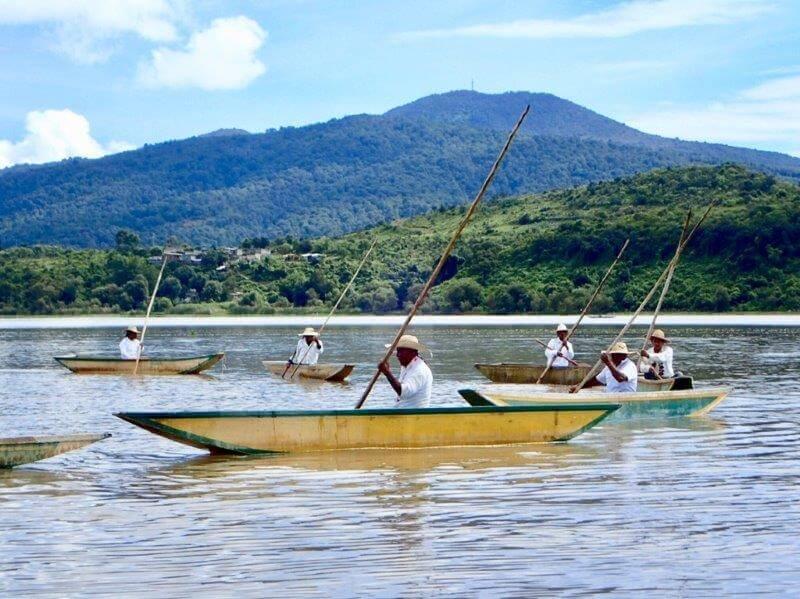 パツクアロの伝統漁