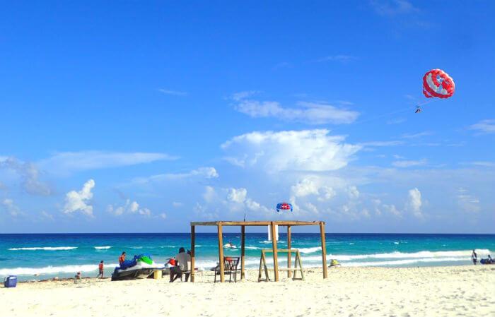 グランカリベ(パナマジャック)ホテルのビーチ3