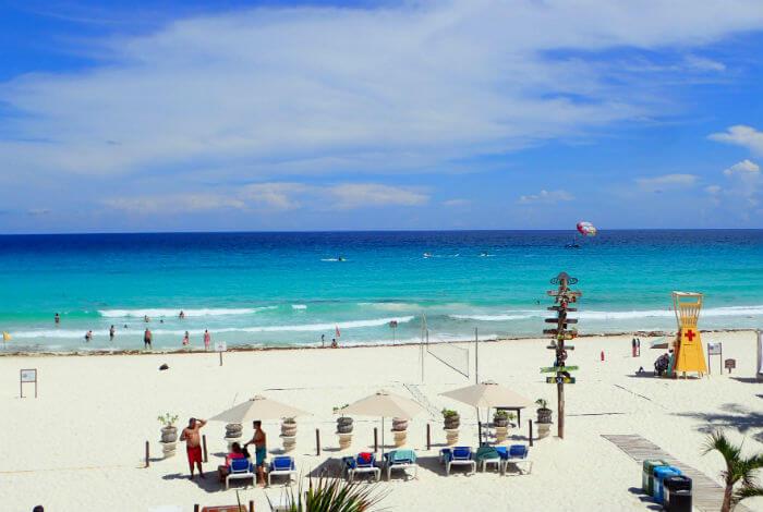 グランカリベ(パナマジャック)ホテルのビーチ4