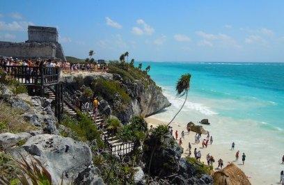 トゥルム遺跡と秘密のビーチ