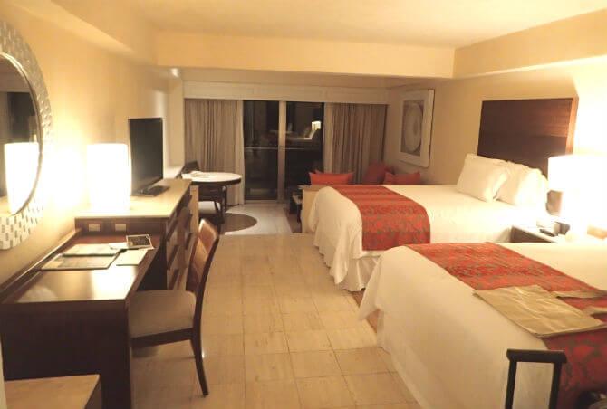 フィエスタアメリカーナコーラルビーチカンクン (3)部屋