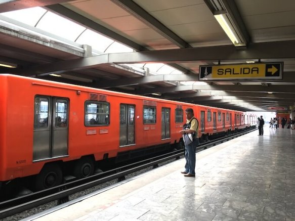 メキシコシティの地下鉄