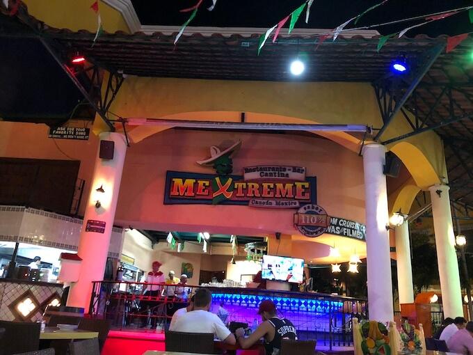 カンクンのメキシコ料理レストランMEXTREME2