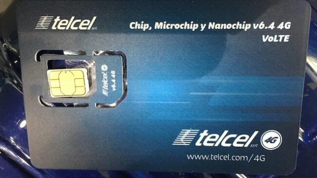 メキシコのSIMカード(TELCEL)4