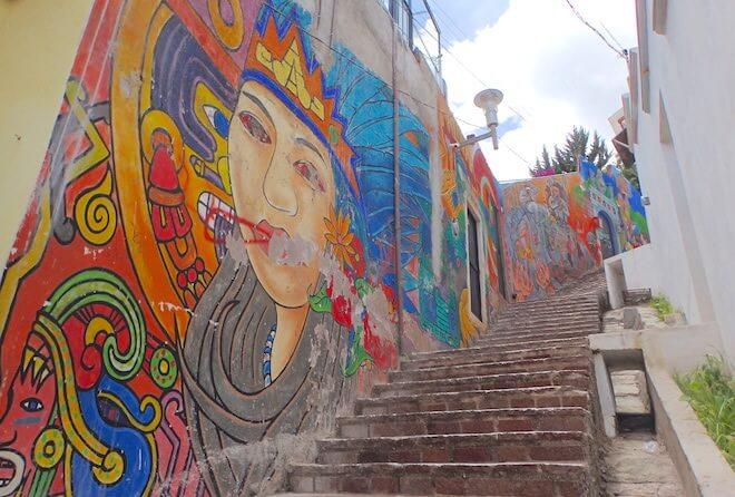 グアナファトのストリートアート1