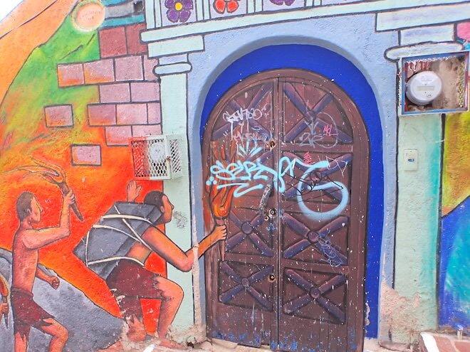 グアナファトのストリートアート4