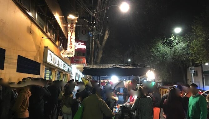 メキシコシティのアレナメヒコ(ルチャリブレ会場)6