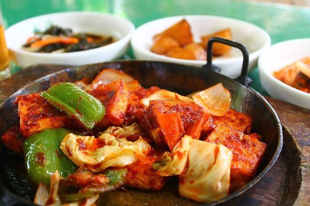 メキシコシティの韓国料理