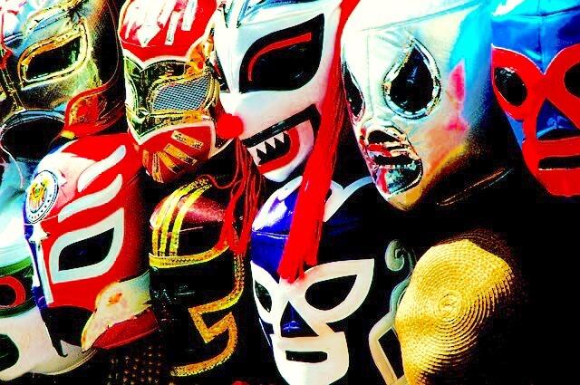 ルチャ・リブレのマスク