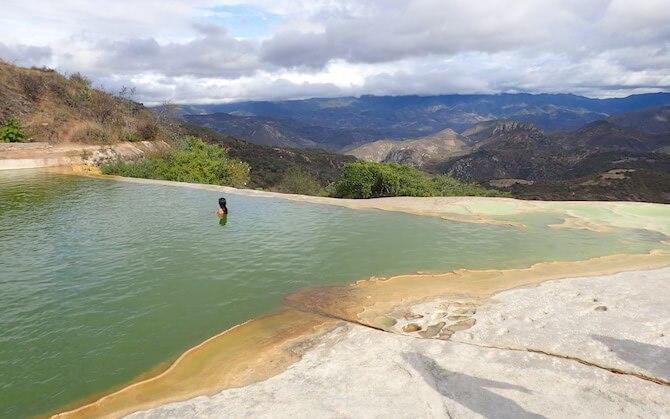 イエルベエルアグアの天然石灰プール5