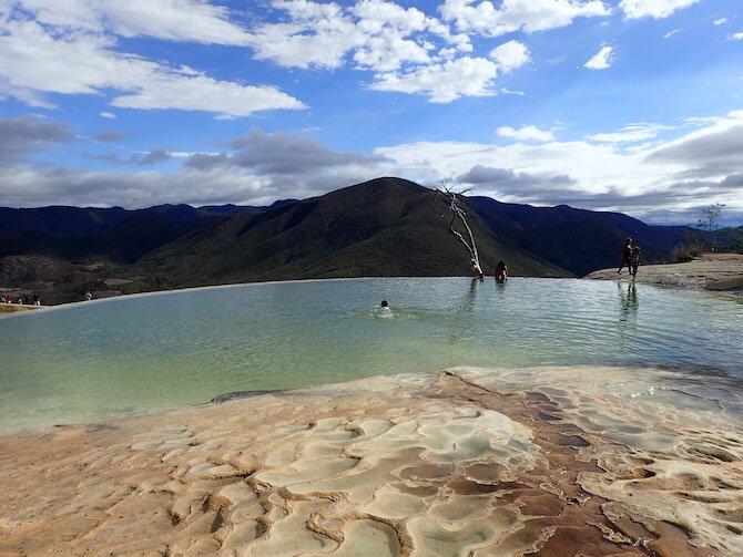 イエルベエルアグアの天然石灰プール9
