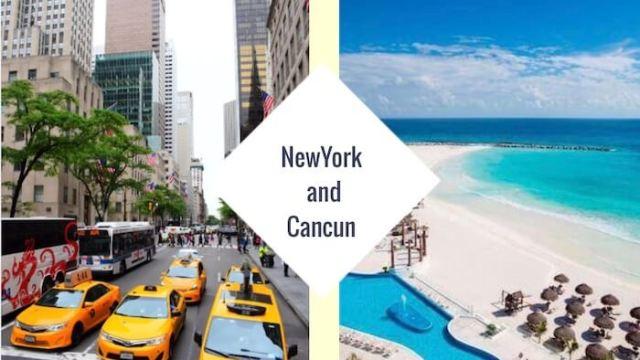 ニューヨーク&カンクン旅行のガイド
