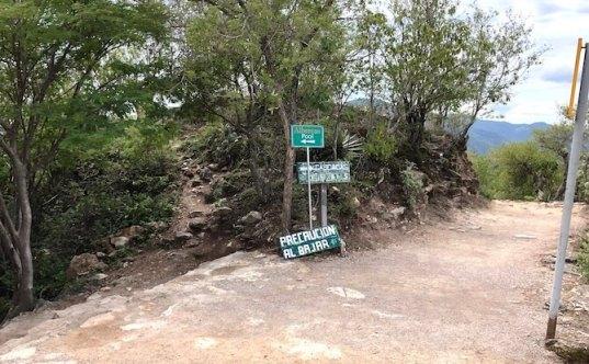 石の滝までの道のり2