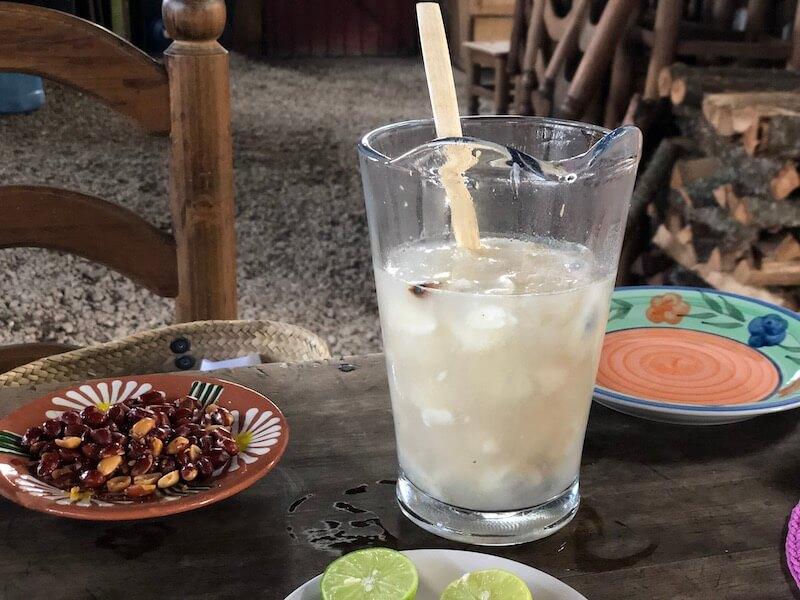 カルドデピエドラ(Cardo de Piedra)のグアナバナジュース