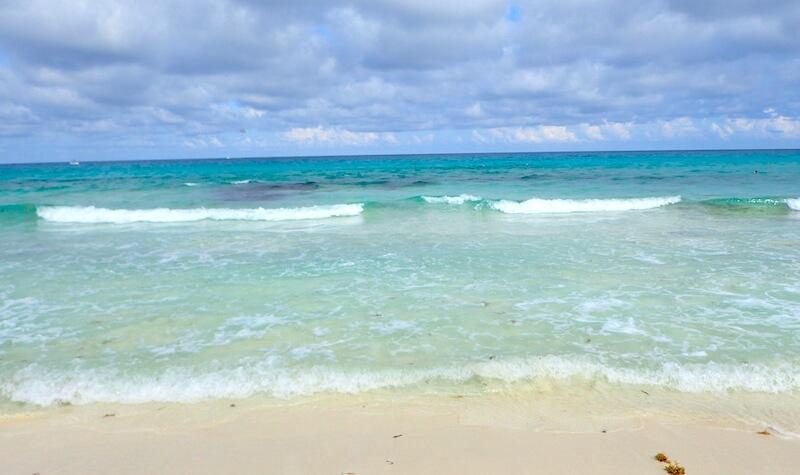 プラヤデルカルメンのビーチ