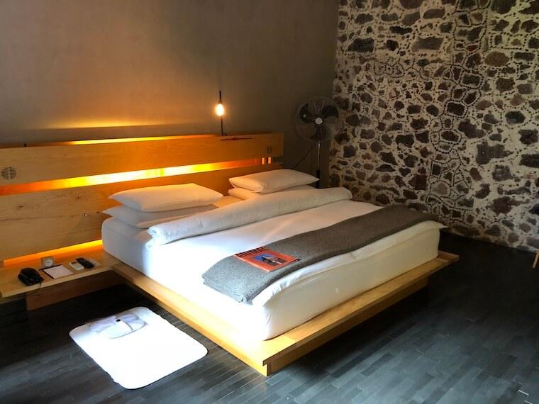 メキシコシティ ホテル・ダウンタウンの寝室1