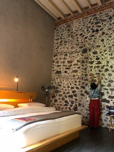 メキシコシティ ホテル・ダウンタウンの寝室2