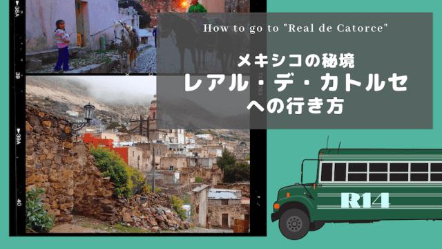レアルデカトルセへの行き方(バス)