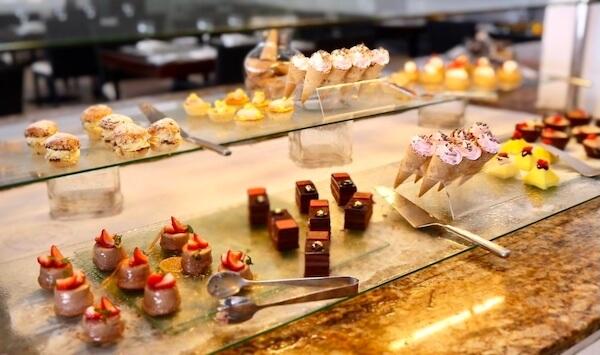 ルブランのビュッフェ(BLANC)デザートコーナー