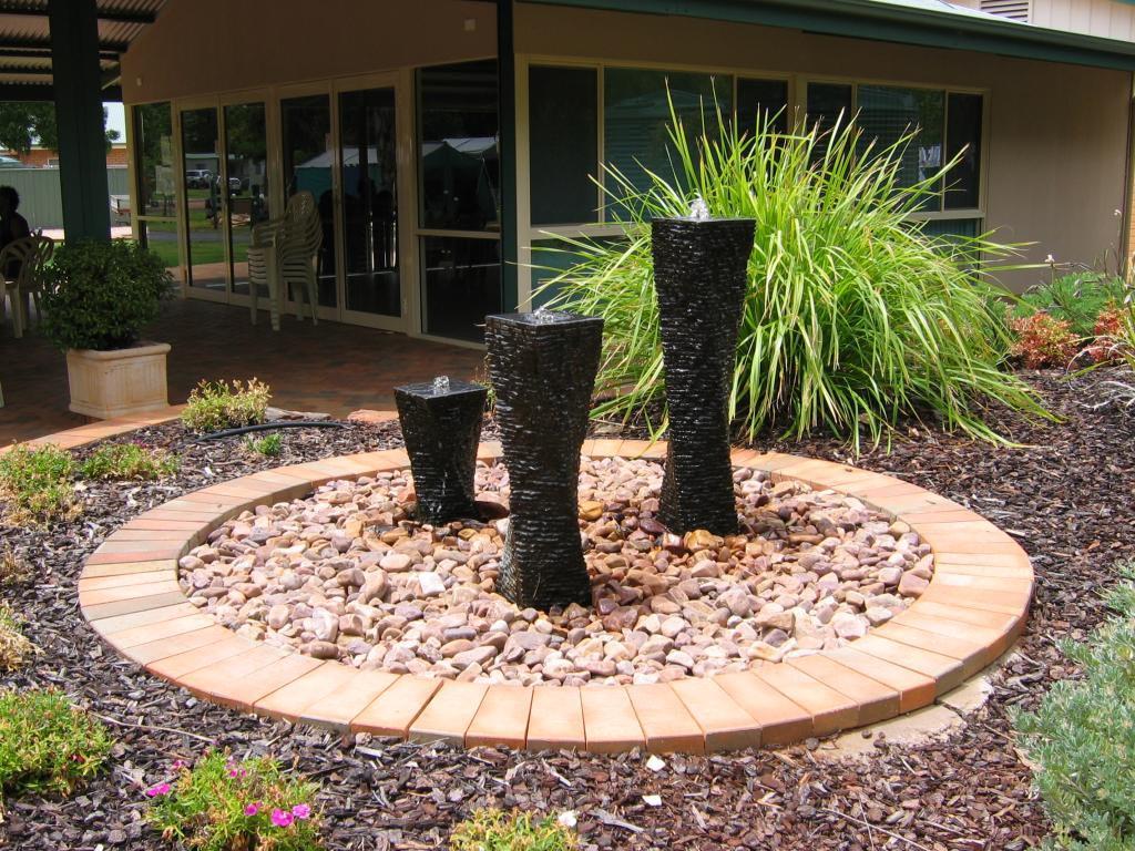 Backyard Water Feature Ideas | Backyard Design Ideas on Water Feature Ideas For Patio id=52761