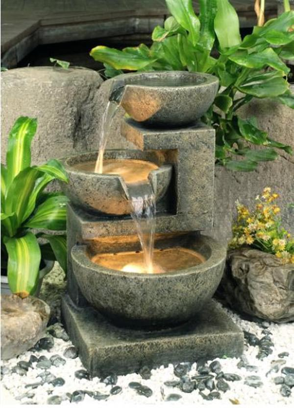 DIY Patio Water Feature | Backyard Design Ideas on Water Feature Ideas For Patio id=68067