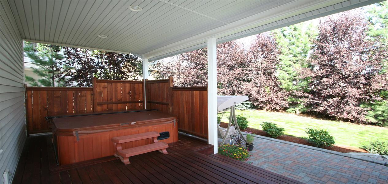 Pros of Building a Hot Tub Deck   Backyard Design Ideas on Under Deck Patio Ideas id=51354