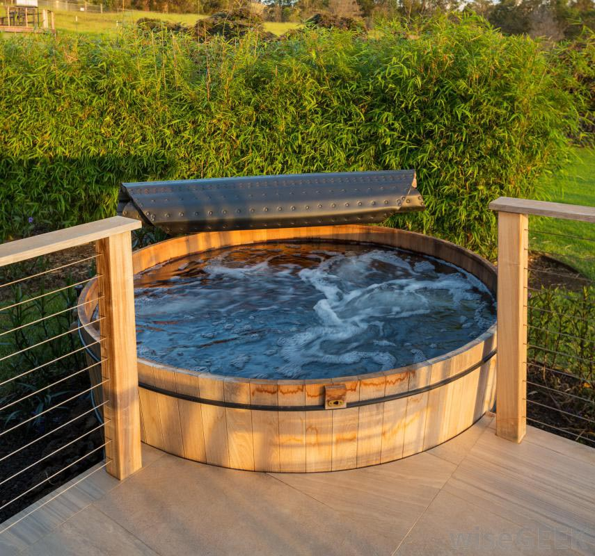 Pros of Building a Hot Tub Deck | Backyard Design Ideas on Deck And Hot Tub Ideas  id=56281