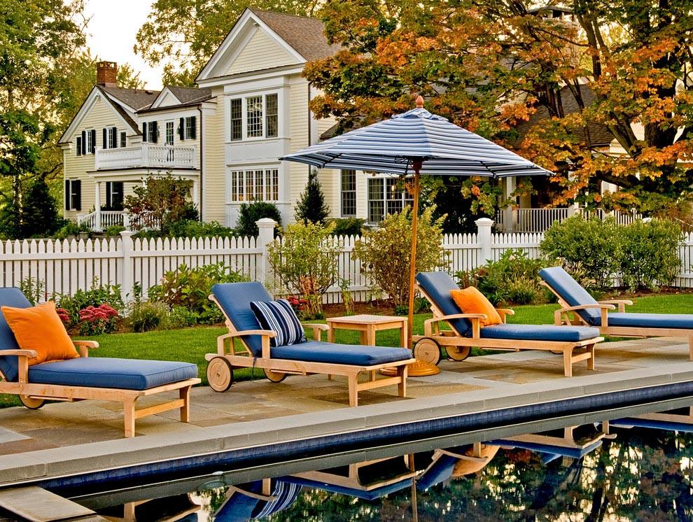Inground Pools   Backyard Design Ideas on Patio Ideas Around Pool id=44089