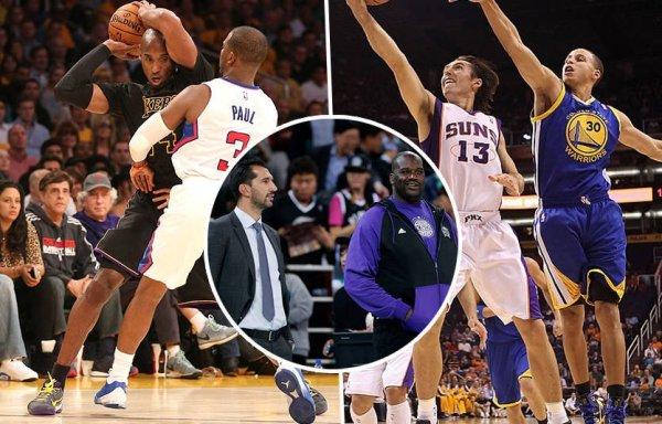 Символические команды НБА: тихоокеанский дивизион » Всё в ...