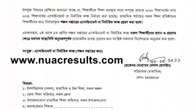 5th Week Assignment Question 2021 Answer Class 6,7,8 & 9 PDF
