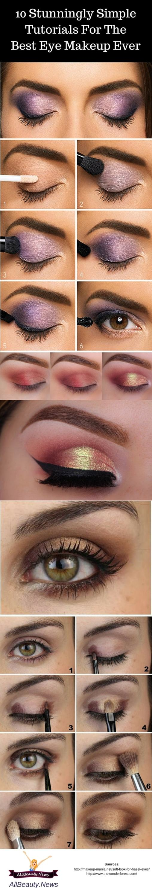 best eye makeup looks for hazel eyes | makeupview.co