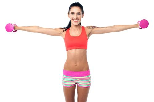 Exercises for reducing armpit fat