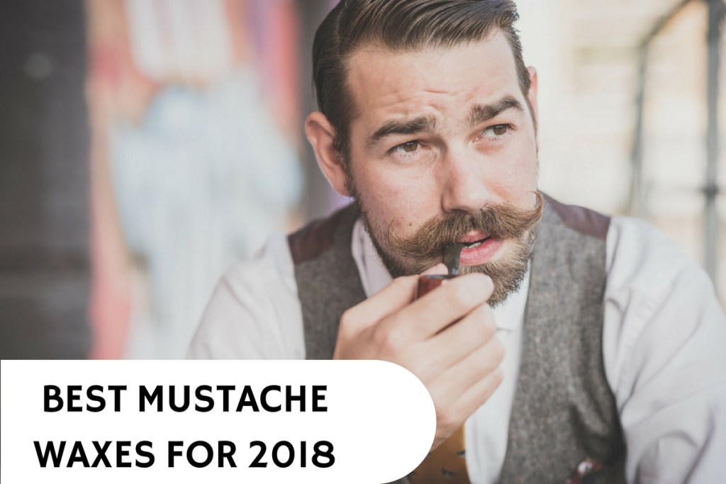 man with great mustache wax from using wax and product