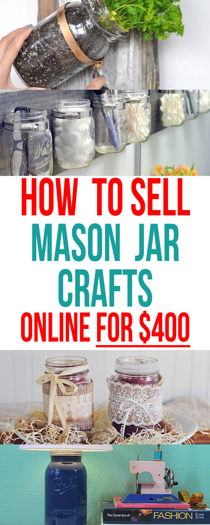 How To Sell Mason Jar Crafts Online