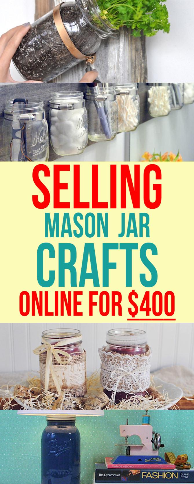 Sell Mason Jar Crafts