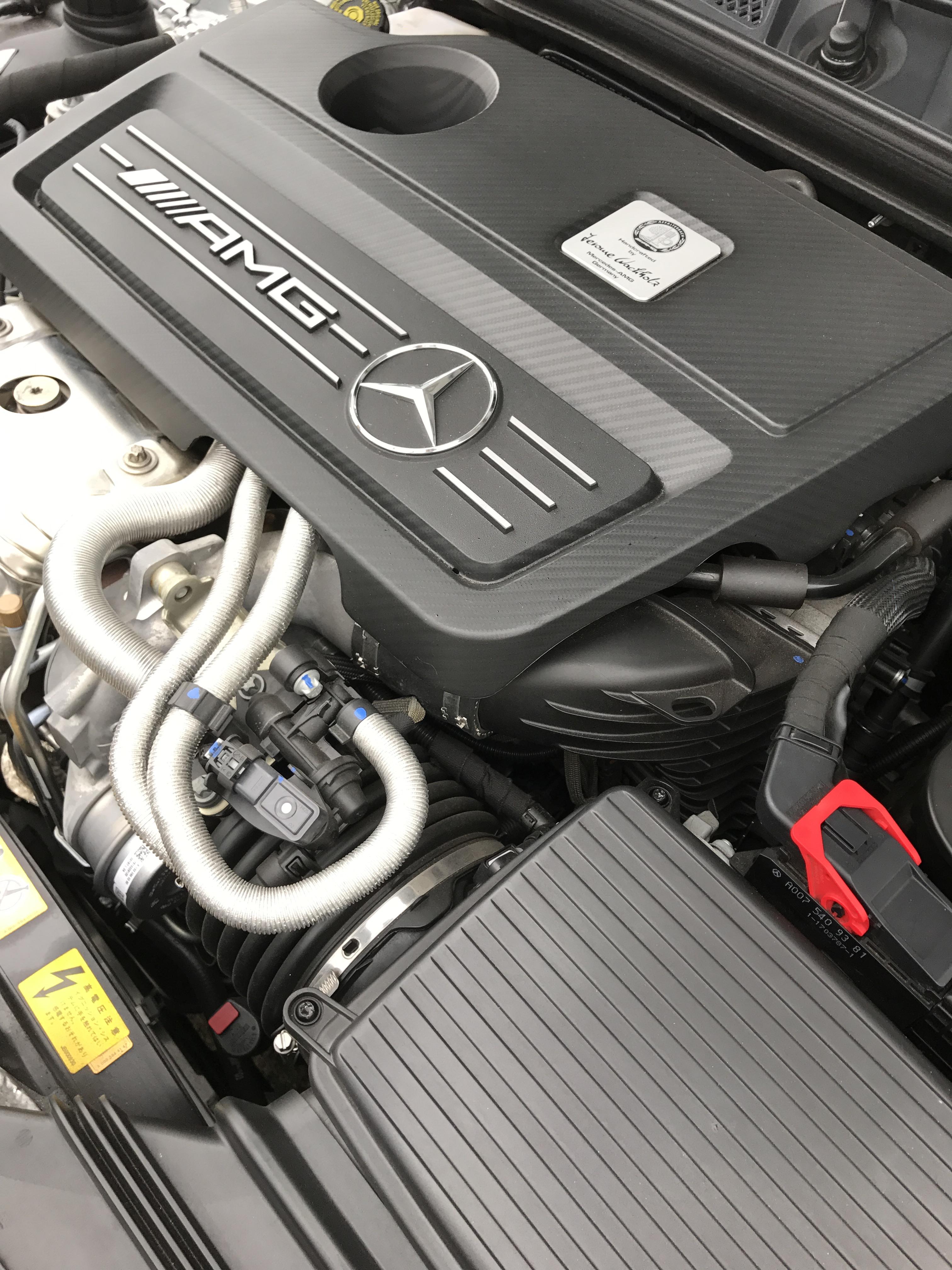 【車】立体駐車場に入る車/AMG A45 4matic/買い替え
