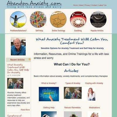 Custom website design for mental health