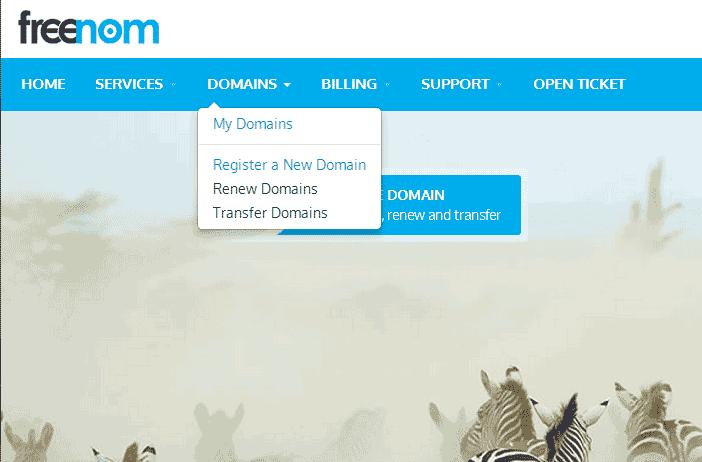 Free dot tk domain name