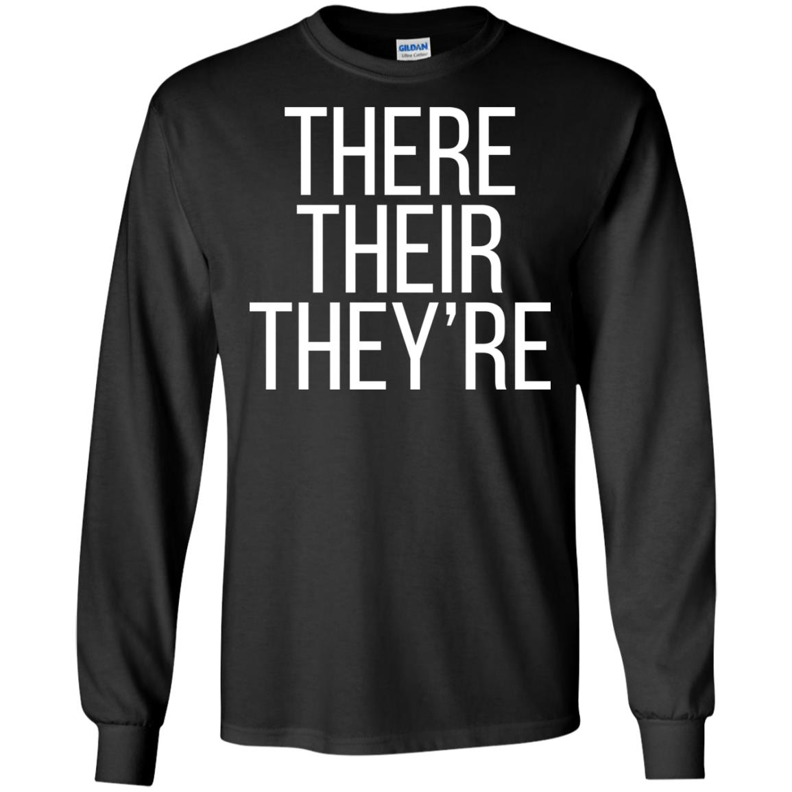 There Their They Re Shirt Hoo